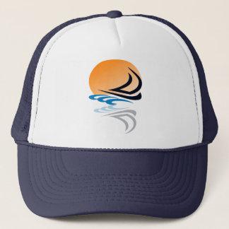 Sailing Yacht in the Sun Trucker Hat