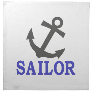 Sailor Anchor Napkin