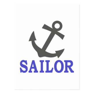 Sailor Anchor Postcard
