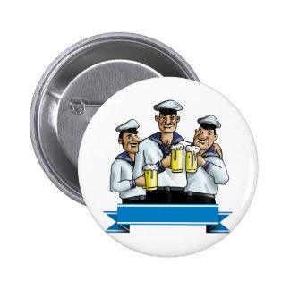 Sailor 6 Cm Round Badge