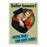 Sailor Beware! Print