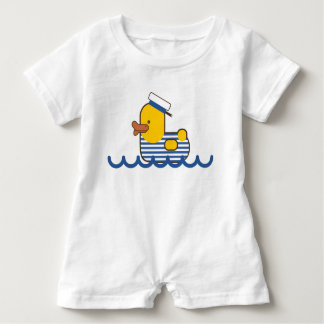 Sailor duck. baby bodysuit