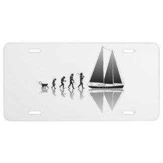 Sailor Evolution License Plate