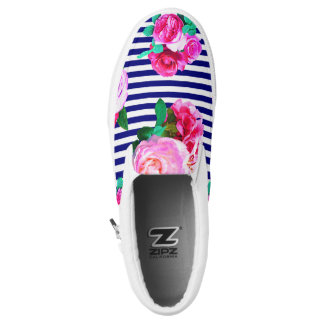 Sailor Girl Slip on shoes Printed Shoes