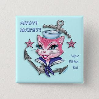Sailor Kitten Kat™ - Button