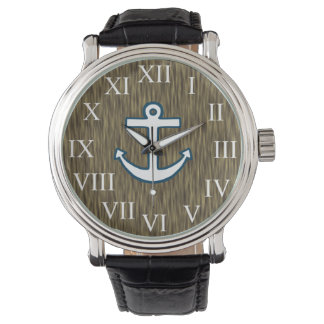 Sailor Nautical Anchor Men's Dad's Watch Gift