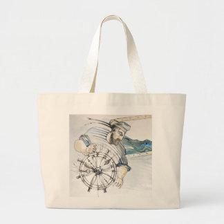 Sailor  nautical decoration jumbo tote bag