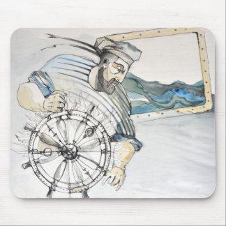 Sailor  nautical decoration mouse mat