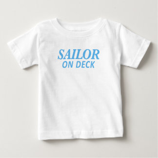Sailor on Deck Print Baby T-Shirt