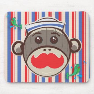 Sailor Sock Monkey Mousepad