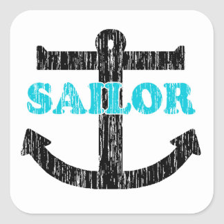 Sailor Square Sticker