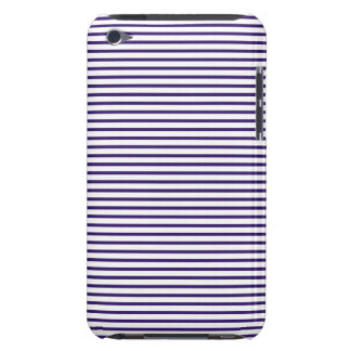 Sailor Stripes - Navy Blue and White Case-Mate iPod Touch Case