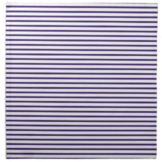 Sailor Stripes - Navy Blue and White Napkin