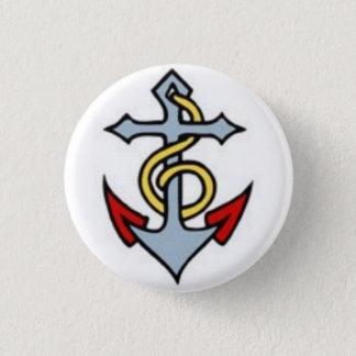 Sailor Tattoo - Anchor - Button