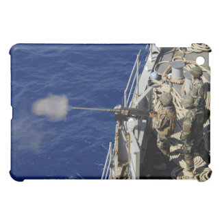 Sailors aboard USS Fort McHenry iPad Mini Cases