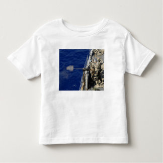 Sailors aboard USS Fort McHenry Toddler T-Shirt