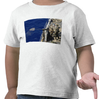Sailors aboard USS Fort McHenry T-shirt