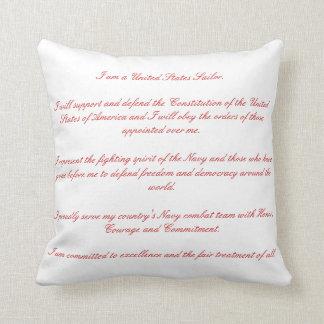 Sailors Creed Cushion