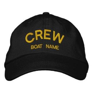 Sailors CREW & BOAT NAME Hat