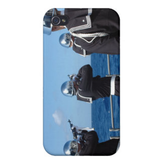 Sailors fire a gun salute during a burial-at-se iPhone 4/4S covers