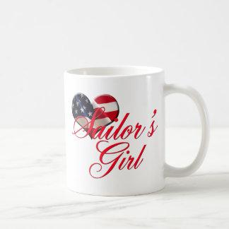 Sailor's Girl Classic White Coffee Mug