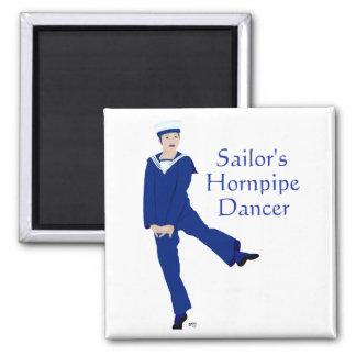 Sailors Hornpipe Dancer Fridge Magnet
