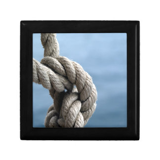 Sailor'S Knot Small Square Gift Box
