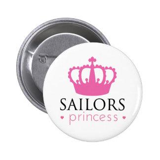 Sailors Princess 6 Cm Round Badge