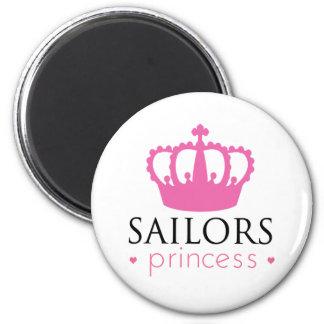 Sailors Princess 6 Cm Round Magnet