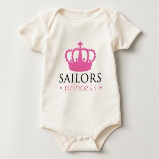 Sailors Princess Baby Bodysuit