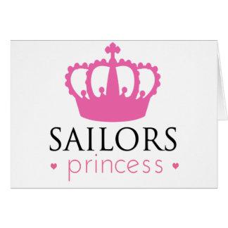 Sailors Princess Greeting Card