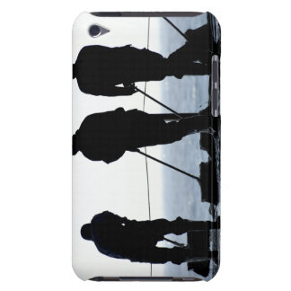 Sailors sweep out the hangar bay iPod touch covers