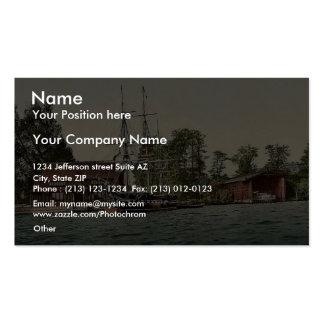 Sailor's training station, Potsdam, Berlin, German Business Card Templates