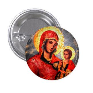 Saint 3 Cm Round Badge