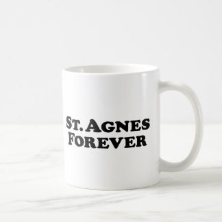 Saint Agnes Forever - Basic Coffee Mug