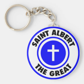 Saint Albert the Great Key Ring