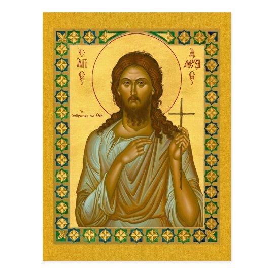 Saint Alexis the Man of God – Icon