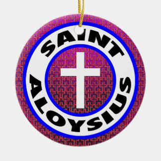 Saint Aloysius Christmas Ornament