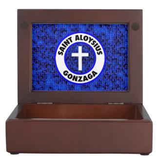 Saint Aloysius Gonzaga Keepsake Box