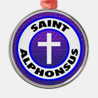 Saint Alphonsus Christmas Ornament