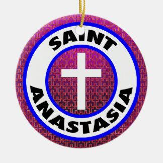 Saint Anastasia Christmas Ornament