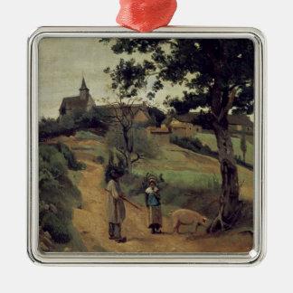 Saint-Andre-en-Morvan, 1842 Christmas Ornament
