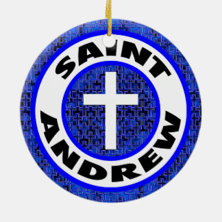 Saint Andrew Christmas Ornament