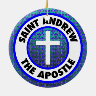 Saint Andrew the Apostle Christmas Ornament