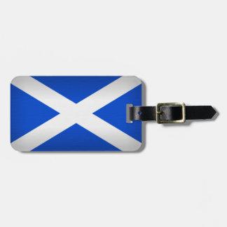 Saint Andrew's Cross Bag Tag