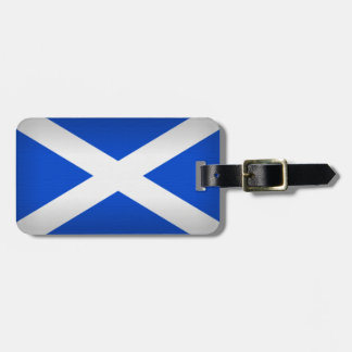 Saint Andrew's Cross Luggage Tag