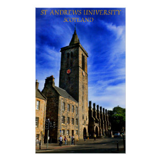 saint andrews university poster