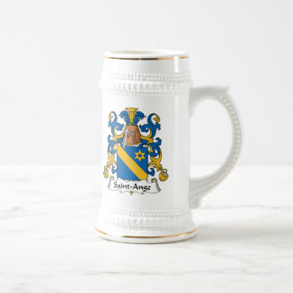 Saint-Ange Family Crest Coffee Mugs