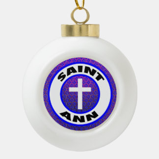 Saint Ann Ceramic Ball Decoration