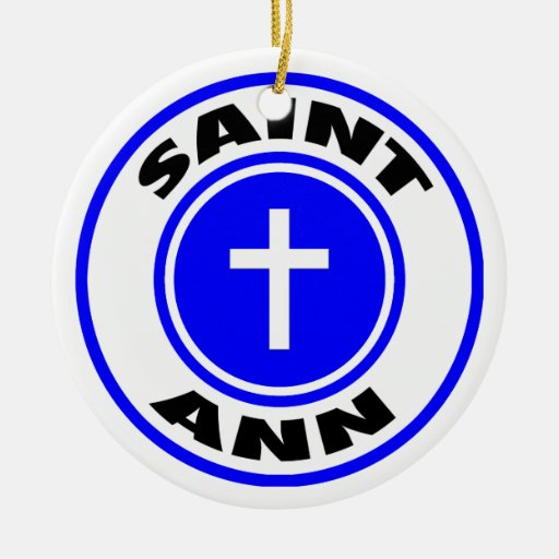 Saint Ann Christmas Tree Ornaments